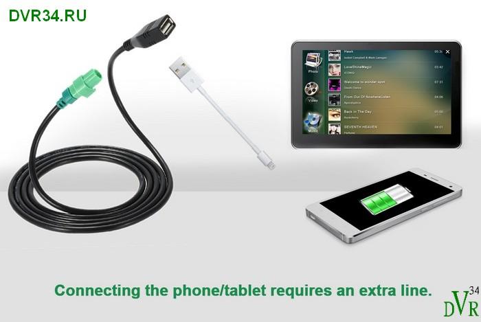 BMW USB зеленый 4