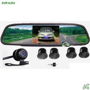 Видео парктроник - монитор зеркало1