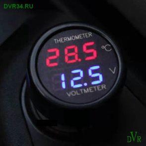 Вольтметр с термометром1