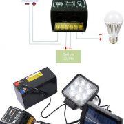 Контроллер заряда солнечной батареи 4